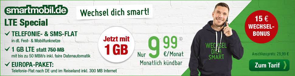 smartmobil LTE Special
